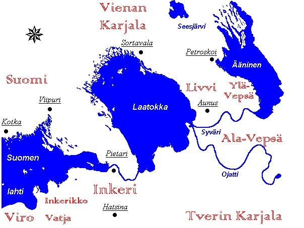 Vepsan Kartta